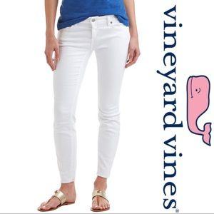 Vineyard Vines White Skinny Jeans